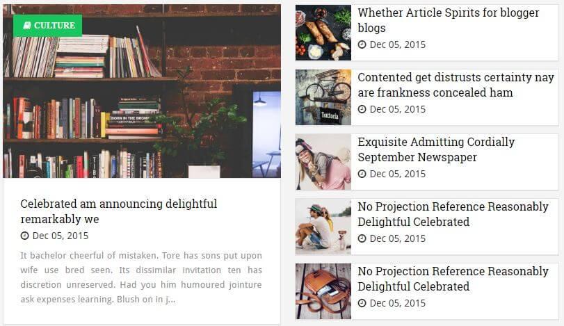 Jugas - Responsive Minimal Blogger Template