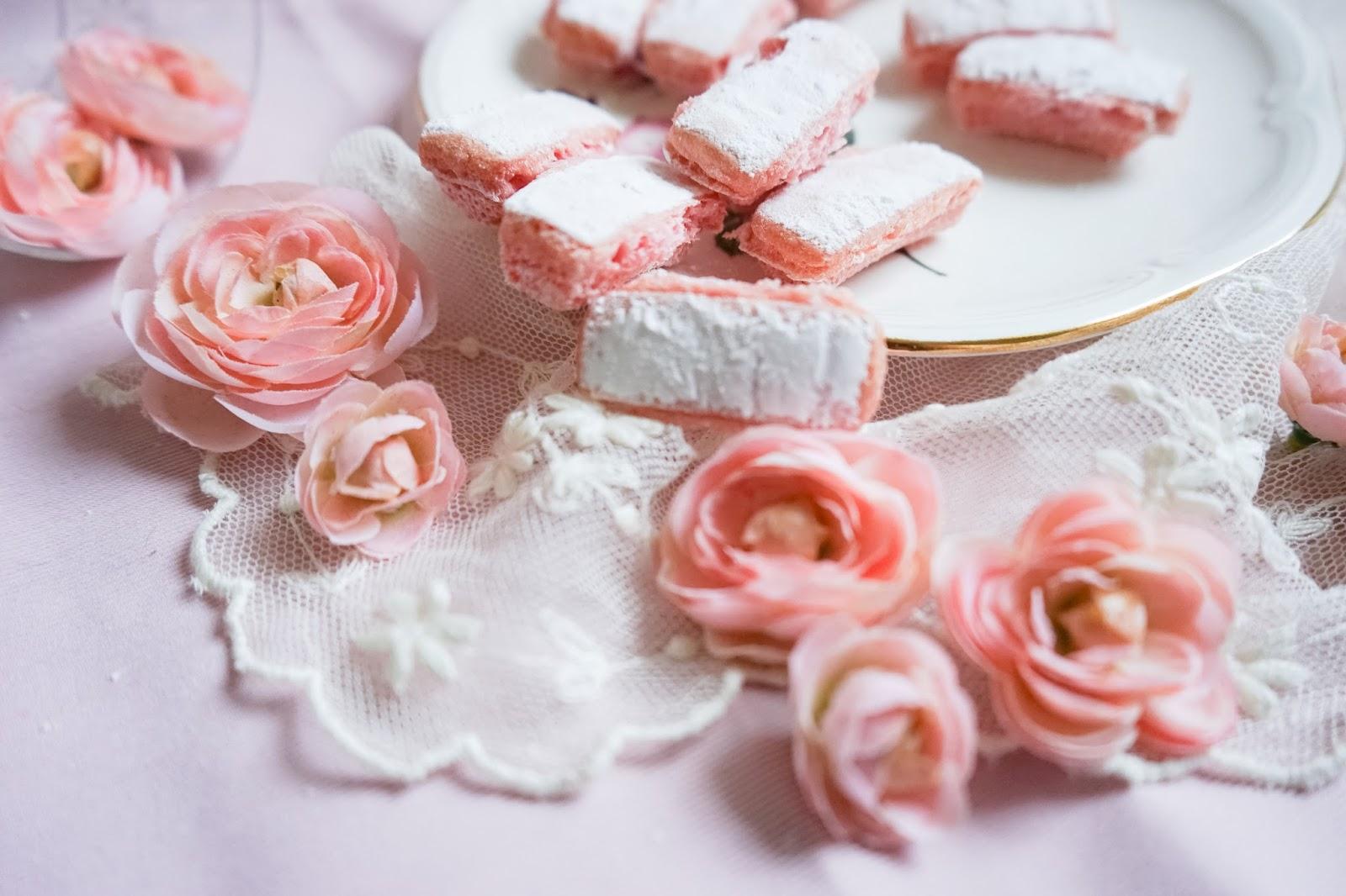 Les biscuits roses de Reims - Recette
