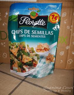 Florette chips de semillas Caja Degustabox Agosto ´16 - Vuelta al Cole
