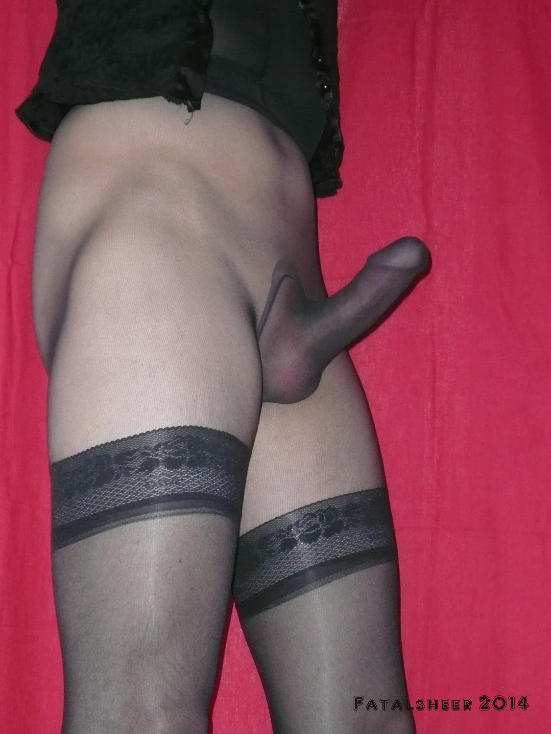 Pantyhose men pics wearing