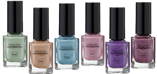 HEMA Special effect nail polishes - Holographic