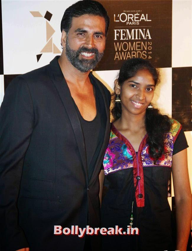Akshay Kumar, L`Oreal Paris Femina Women Awards 2014