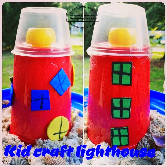 U S Lighthouses And Simple Kid Craft Discovering The World