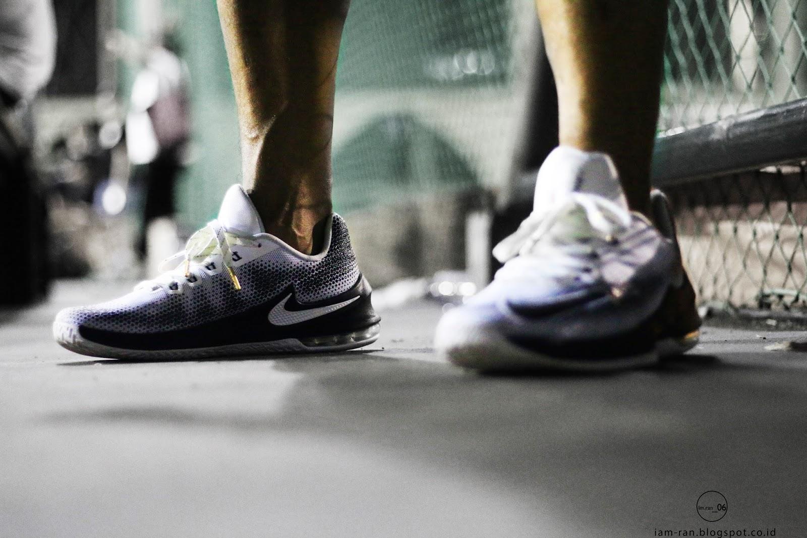 IAM RAN: ON FEET : Dede Hamzah Air max infuriate basketball