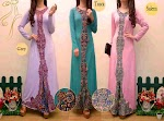 291044 Gamis Spandex Bordir SOLD OUT