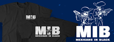 Mexicans in Black tshirt