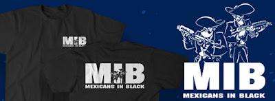 Mexicans in Black tshirt