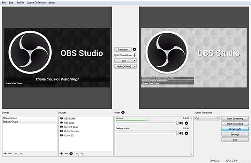 Οι καλύτερες δωρεάν εφαρμογές καταγραφής βίντεο-Open Broadcaster OBS