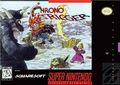 Caratula de Chrono Trigger de Super Nintendo
