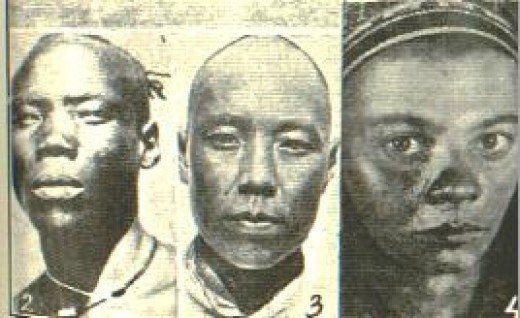 China, Indian, African, human race
