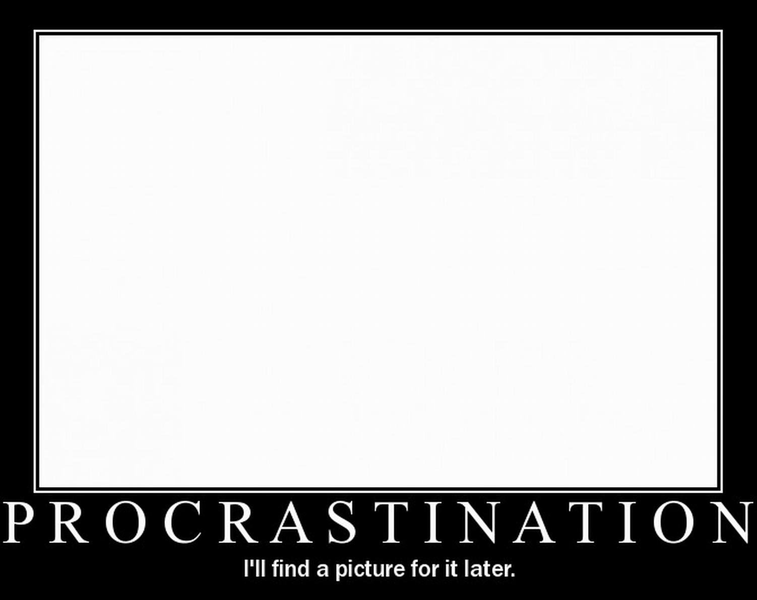Erteleme Aliskanligi (Procrastination)