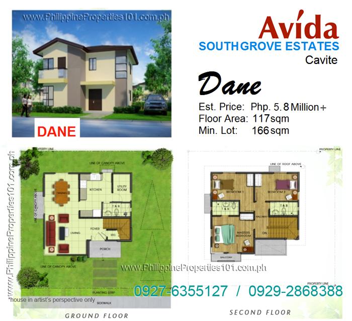 Avida South Grove Cavite Dane House