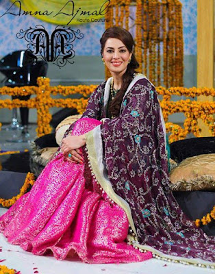 Amna Ajmal bridal wear & groom dresses 2017 collection (2)