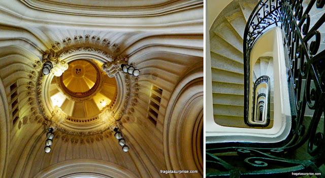 Cúpula e escadaria do Palácio Barolo, Buenos Aires