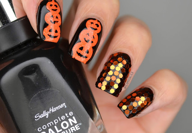 NAILS | Jack-O-Lanterns #CBBxManiMonday