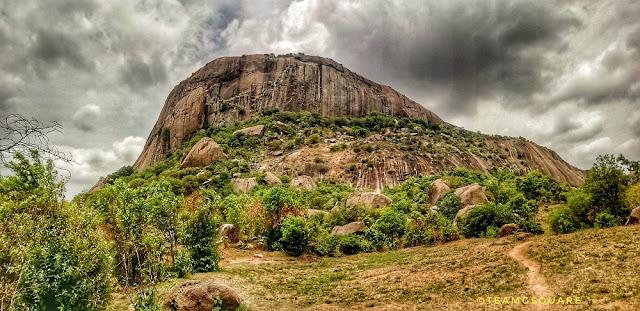 Achaludurga fort, Karnataka