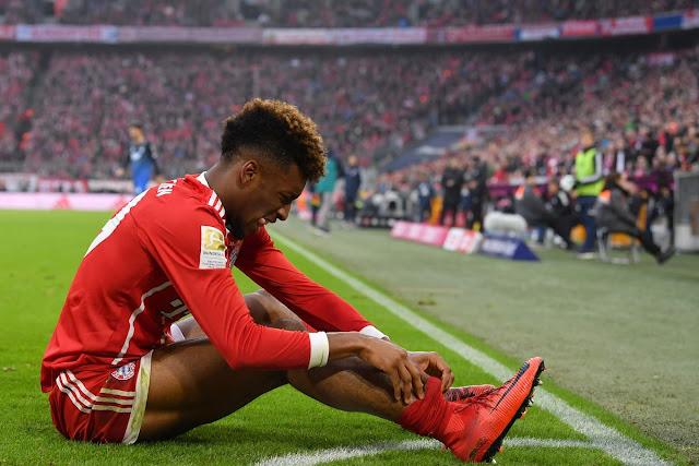 Bayern lâm nguy khi sao trẻ chấn thương nặng