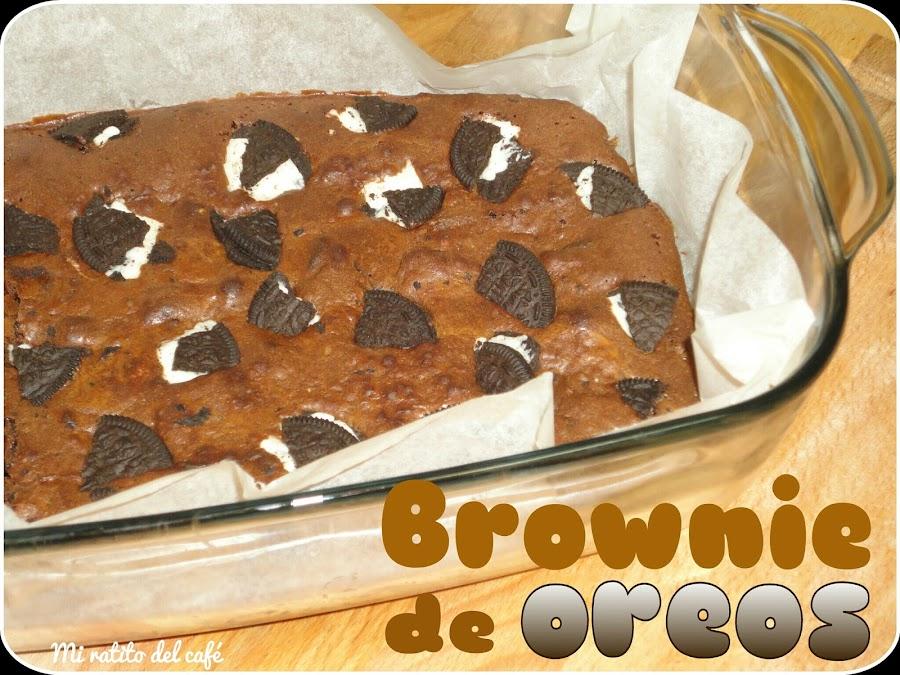 Brownie de oreos