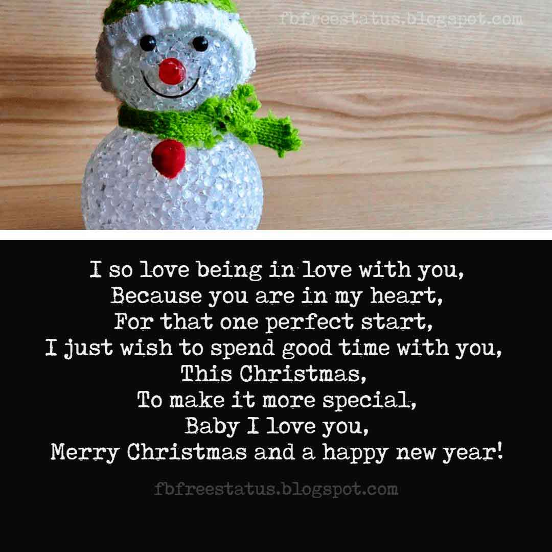 Merry Christmas Love Messages, Quotes