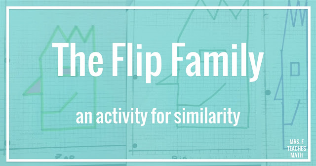 This free activity for similarity in geometry is fun review for high school or middle school students.  I love that it makes students practice plotting points, slope, and scale factor all in the same lesson.