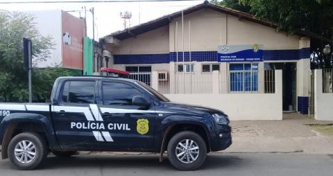 Polícia Civil cumpre mandado de prisão de condenado por roubo em Marabá
