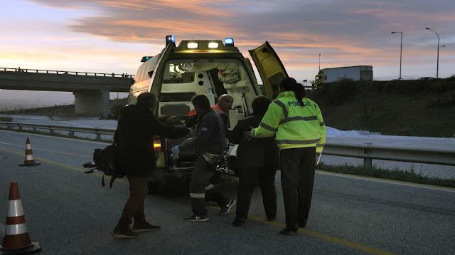 Θανάσιμο τροχαίο δυστύχημα στην Εθνική Οδό Κορίνθου- Τρίπολης- Καλαμάτας