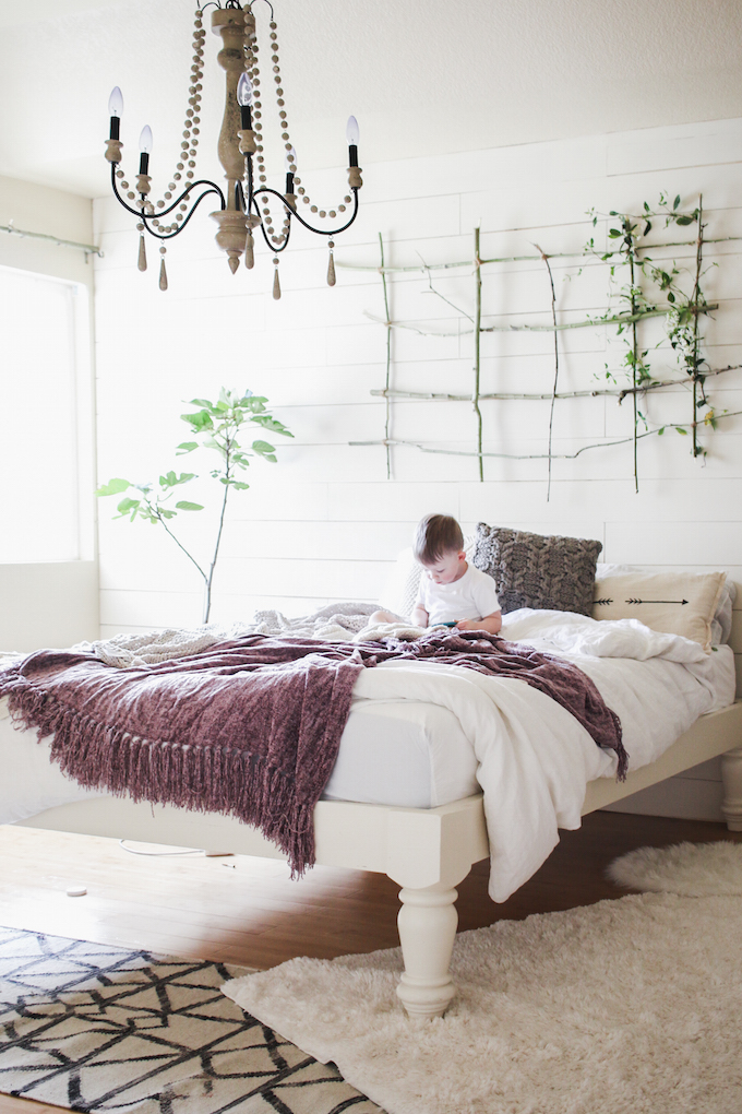 Vintage Whites Blog Vintage Modern Bedroom Makeover With