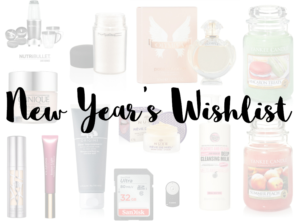 New Year's Wishlist