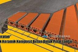 Dak Keraton,  Dak Keramik Komposit Beton Untuk Pelat Lantai