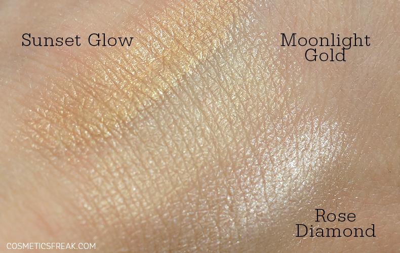 miya cosmetics mystarlighter swatche