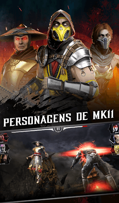 Mortal Kombat Dano Infinito / Mod Menu 2021 v 3.2.1