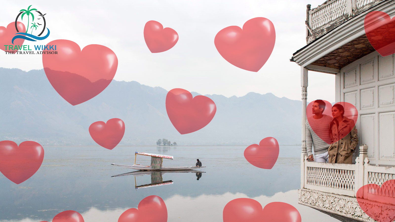 Srinagar in Valentines Day