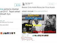 BONGKAR! Netizen UNGKAP Akun Pertama Penyebar Chat Fitnah Habib-Firza, Ayo Polri Gerak Cepat