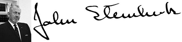 John Steinbeck, premi Nobel de literatura