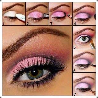 Çeşitli Göz Makyajı Yapım Örnekleri 8