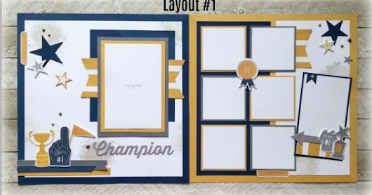 Enchantment 6 Page Sports Scrapbook