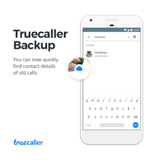 Truecaller contact backup and restore