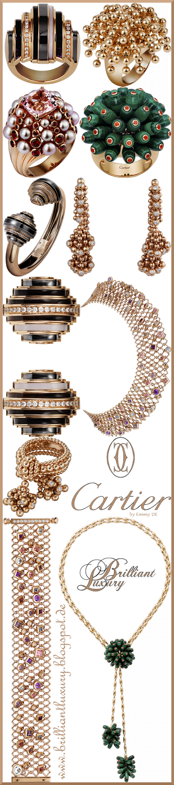 Brilliant Luxury ♦ Cartier Paris 'Nouvelle Vague Collection'