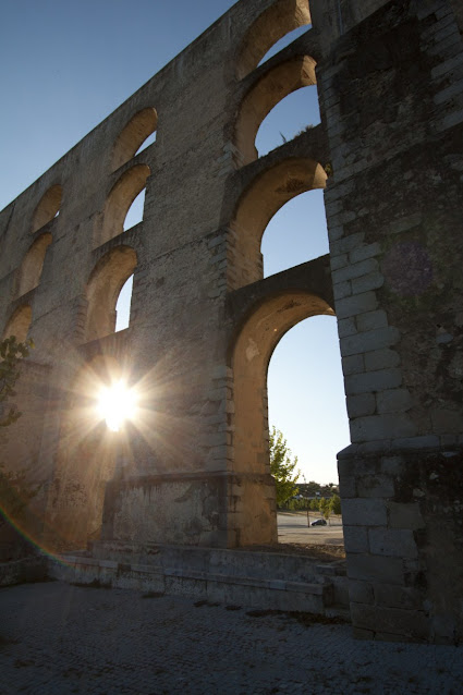 Estremoz ed Elvas-Acquedotto romano
