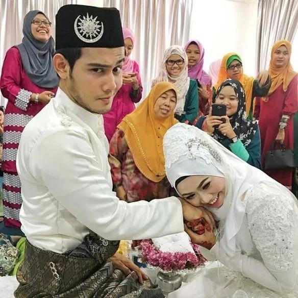 Hafidz Roshdi dan Isteri