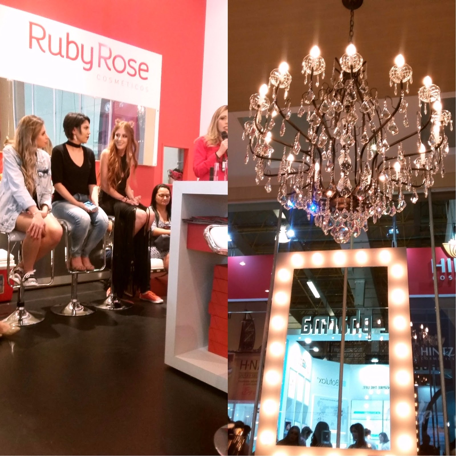 Novidades da Ruby Rose na Beauty Fair 2017