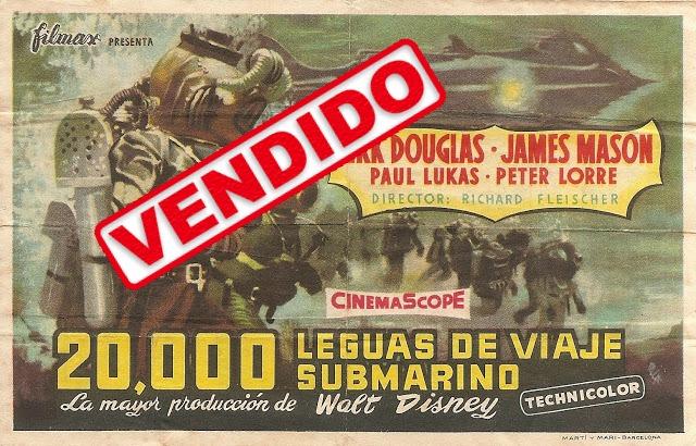 Programa de Cine - 20.000 Leguas de Viaje Submarino - Kirk Douglas - James Mason