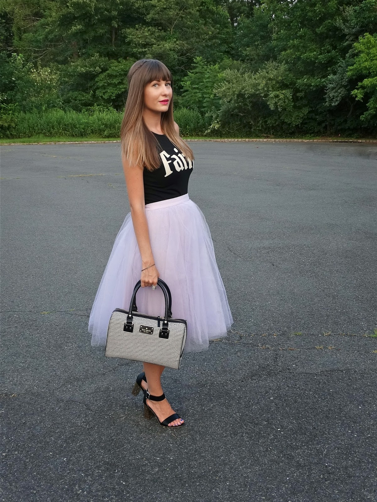 Tulle Skirt like Carrie Bradshaw Wore | House Of Jeffers | www.houseofjeffers.com