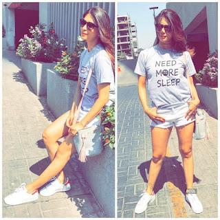 Kishwar Merchant Spicy Instagram Pics Bikini Shorts Vacation Beech side pIcs Exclusive (3).jpeg