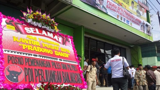 Kubu Jokowi Sindir Tim Prabowo: Mau Bangun Berapa Posko di Solo Kami Tak Terganggu