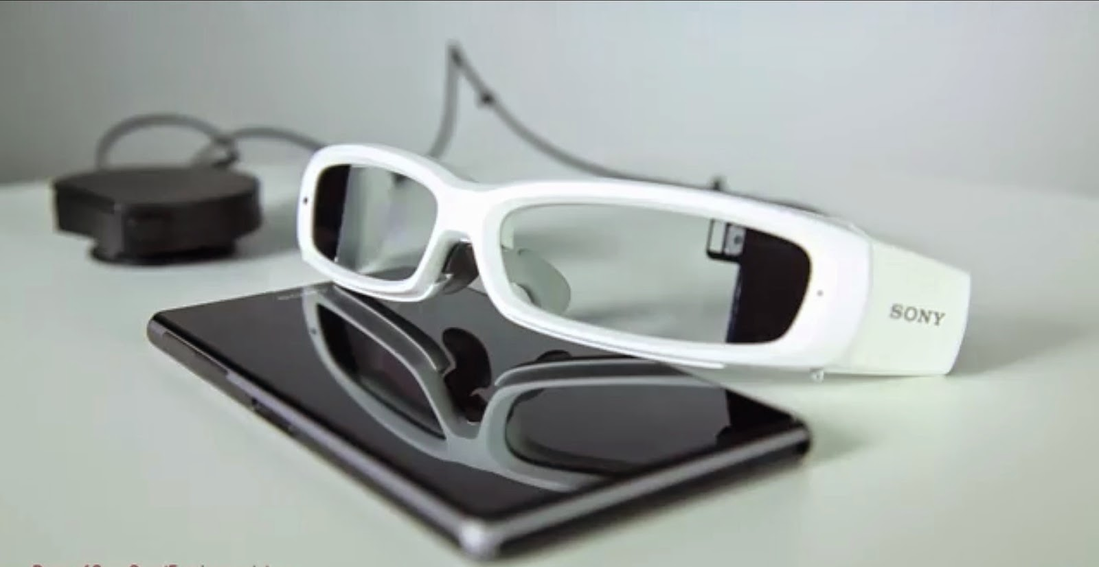 Smart eyeglass de Sony