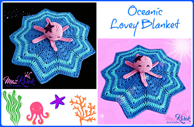 lovey blanket free crochet pattern