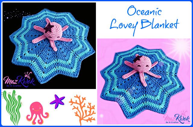 lovey blanket free crochet pattern