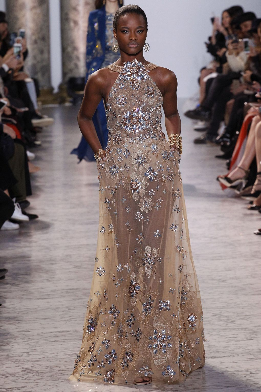 20077ddabf7a Highlights from the couture fashionshow from Elie Saab for Spring Summer  2017