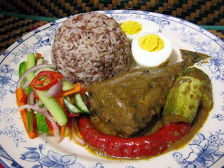 how to make Nasi dagang Malaysia
